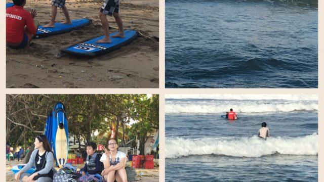 【オーナー仲間との旅行】2016ー2017バリの思い出vol 3 サーフィン&海