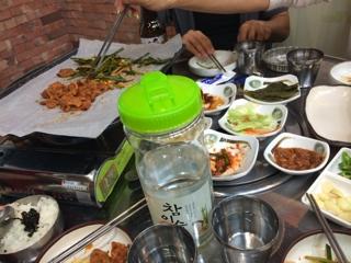 【韓国旅行】1日目夕食 | 自宅サロンオーナーありがとうの感謝日記
