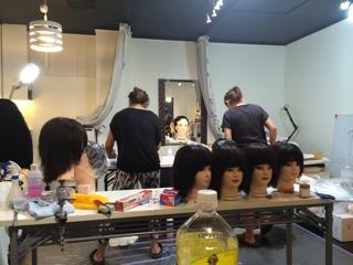 皆は撤収しましたが、、、、美容師免許国家試験練習 | 自宅サロンオーナー